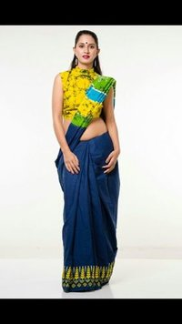 Trendy Look Cotton Saree