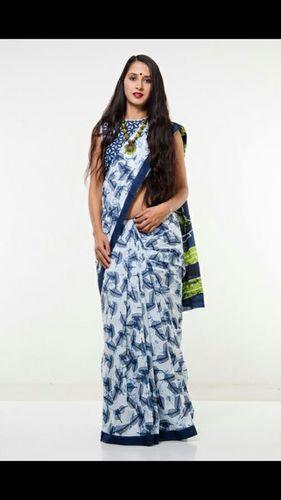 Sanganeri Printed Cotton Saree