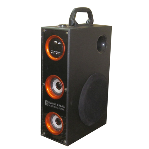 Multimedia tower single 6 inch woofer