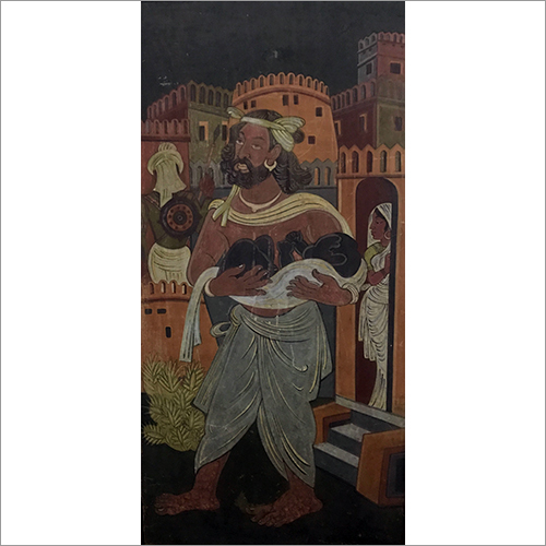 Nandlal Bose - Birth Of Krishna
