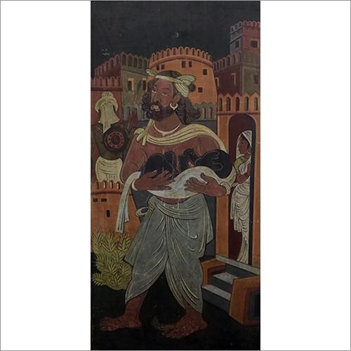 Nandlal Bose - Birth Of Krishna