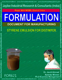 Styrene Emulsion for Distemper