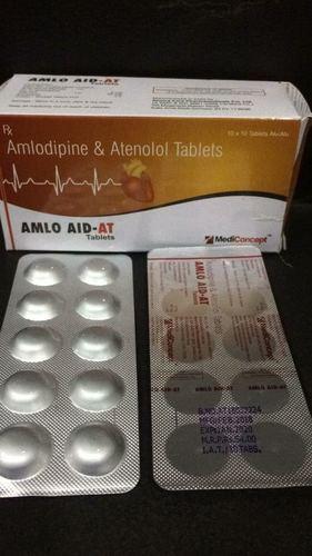 AMLODIPINE 5 MG. + ATENOLOL 50 MG. TABLETS