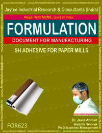 SH Adhesive for Paper Mills