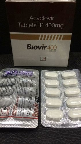 Acyclovir 400 mg. Tablets