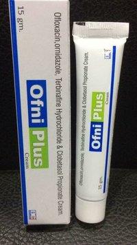 Ofloxacin I.P. 0.75%+Ornidazole 2.0%+ Terbinafine Hydrocloride 1%+ Clobetasol 0.05% Cream