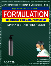 Spray Mist Air Freshener