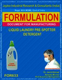 Liquid Laundry Pre Spotte Detergent