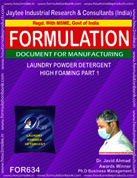 Laundry Powder Detergent High Foaming Type 1