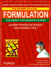 Laundry Powder Detergent High Foaming Type 2