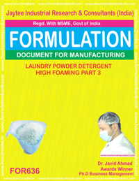 Laundry Powder Detergent High Foaming Type 3