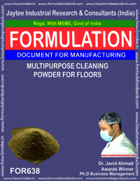 Multipurpose Cleaning Powder For Floors