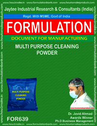 Multipurpose Cleaning Powder