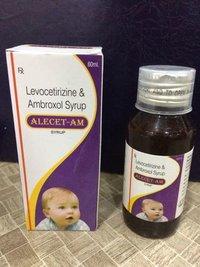 Levocetrizine 2.5MG + Ambroxol 30mg/5ml Syrup