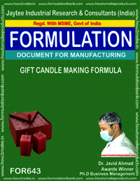 Gift Candle Making Formula