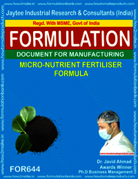 Micro Nutrient Fertilizer Formula