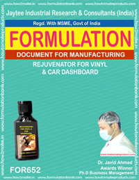Car Polishes Formulations
