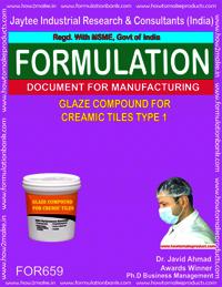 Glaze compound for Ceramic tiles types 1