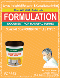 Glazing Compound Formulations