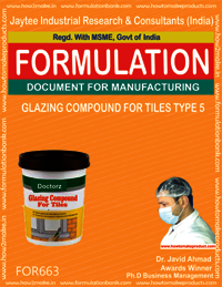 GLAZING COMPOUND FOR TILES TYPE 5