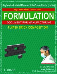 FLYASH BRICK COMPOSITION