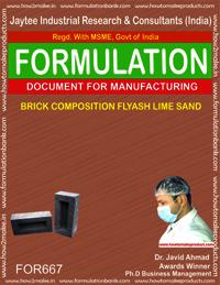 BRICK COMPOSITION FLYASH LIME SAND