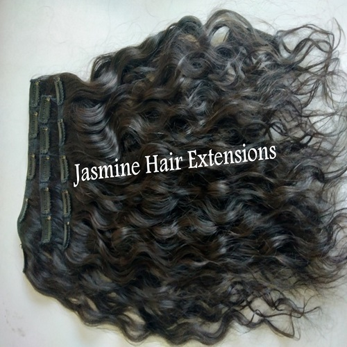 Natural Wavy Hair Clip-In Hair Extension