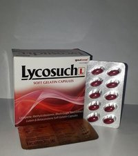 Lycopene + Methylcobalamin + lutein + Black Grape  seed + Betacarotene 5 mg SOFT GEL  CAPSULES