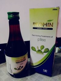 Pilomin Herbal Syrup