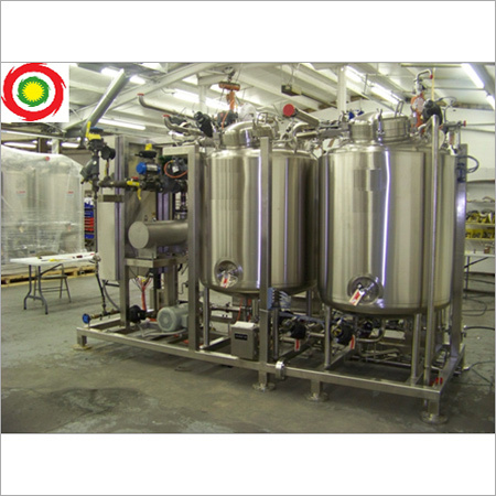 2 Or 3 Tank Automatic Cip System