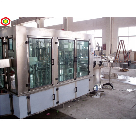 Automatic Rinsing Filling Capping Machine For Mineral Juice