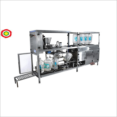 Automatic Rinsing, Filling And Capping Machine For 20 Liter Jar