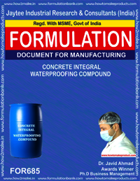 Concrete Integral Waterproofing Compound