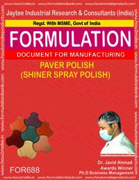 PAVER POLISH (SHINER SPRAY POLISH)
