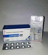 CINNARIZINE 20 MG. + DOMPERIDONE 10 MG. TABLETS