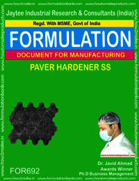 PAVER HARDENER SS