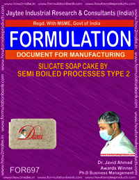 SILICATE SOAP CAKE BY SEMI BOILED PROCESS TYPE 2