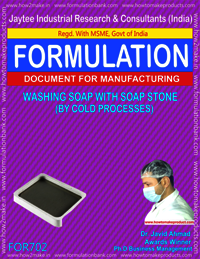 WASHING SOAP WITH SOAP STONE