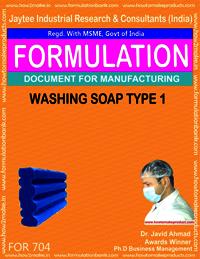 WASHING SOAP TYPE 1