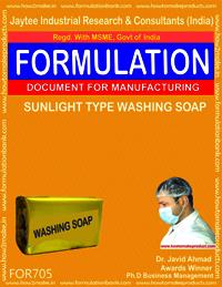 SUNLIGHT TYPE WASHING SOAP