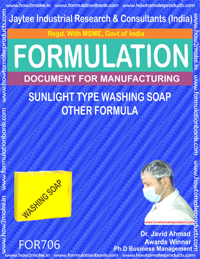 Soap Manufacturing Formulations