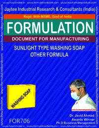 SUNLIGHT TYPE WASHING SOAP (OTHER FORMULA)