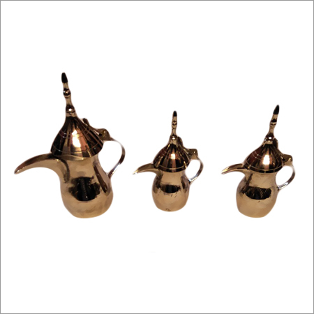 Arabic Pot Silver set of Three