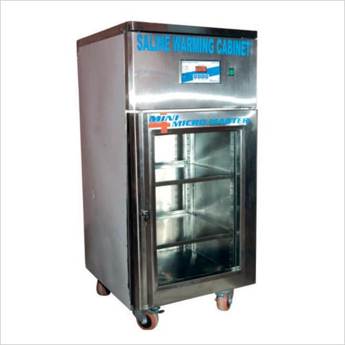 Saline Warming Cabinet