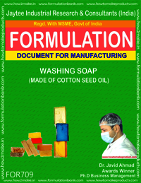Washing Soap (Made of Cotton Seed Oil)