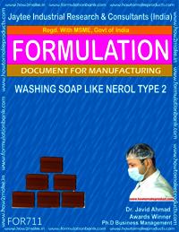 FORMULA FOR WASHING SOAP LIKE NEROL SOAP (TYPE 2)