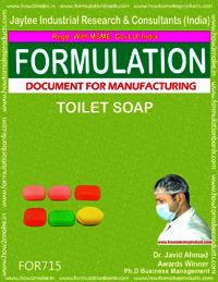 FORMULA FOR TOILET SOAP