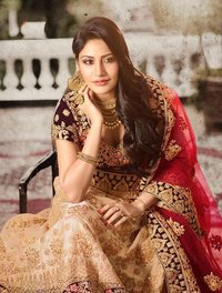 Online shopping of wedding lehenga for women