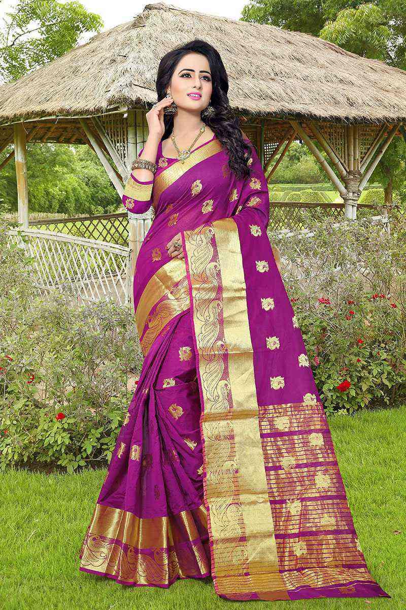 Exclusive weaving silk sarees