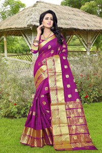Exclusive weaving silk sarees